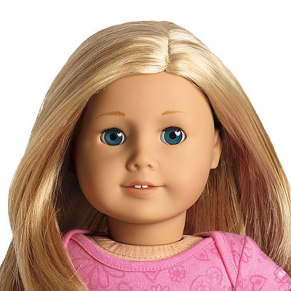 American Girl Doll Gt27 Blond Hair Blue Eyes My Ag New In Box True