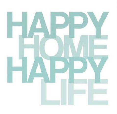 Happy Home Happy Life Quote Print Art Happy Life Quotes Life Quotes Happy Quotes