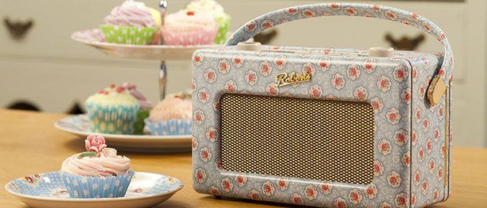 Roberts Radio Revival DAB Cath Kidston Kempton Rose £20000 Tech