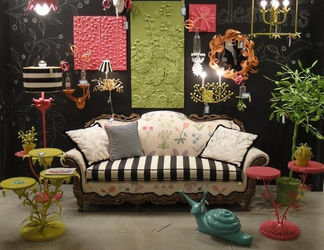 Eclectic Style or Too Much | Furniche.com