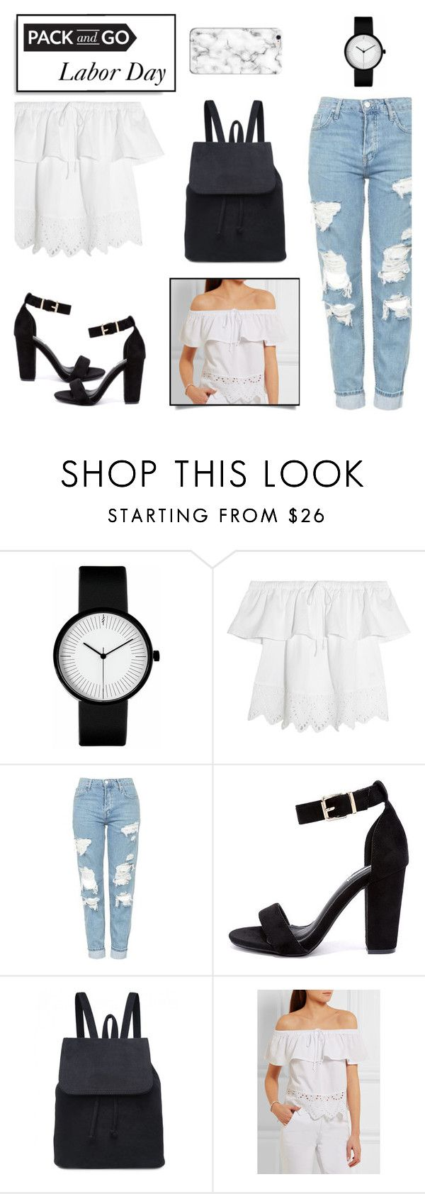 """""""Labor Day"""" by aggpap3 ❤ liked on Polyvore featuring Madewell, Topshop and Cape Robbin"""