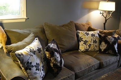 Outstanding Nice Contrast W Dark Green Couch Cushions On Sofa Dark Beatyapartments Chair Design Images Beatyapartmentscom