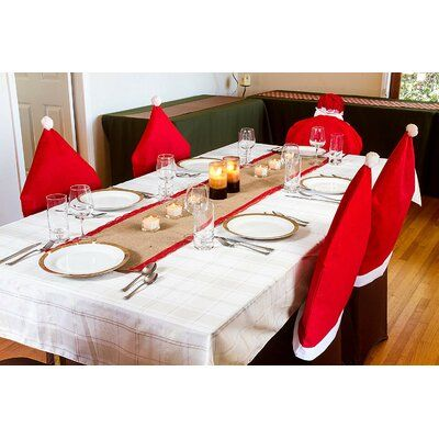 The Holiday Aisle Christmas Table Runner Color Christmas Red Border Table Runner Chevron Table Runners Christmas Table Runner Christmas Table