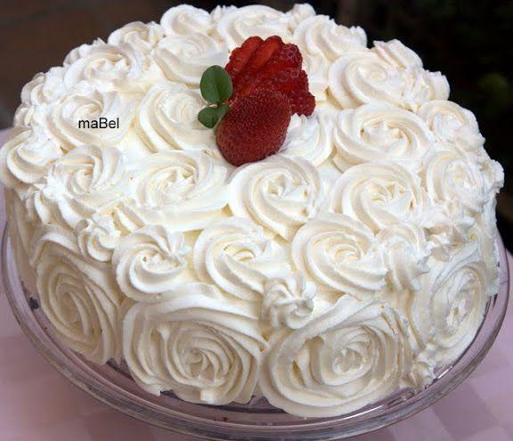 Pasteles de colores decorar una tarta con rosas pastel for Como decorar una torta facil y rapido