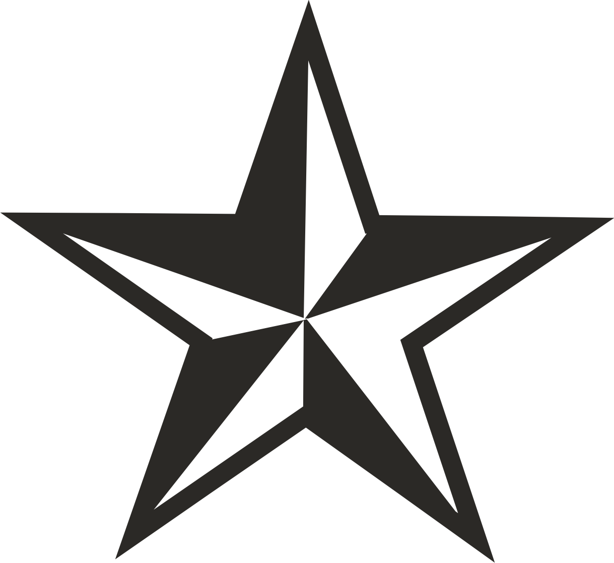 Star 3 Png 1219 1117 Vinyl Star Decals Star Decals Colour Star