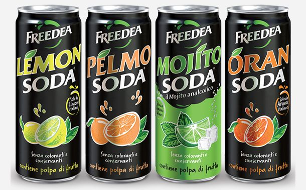Campari Agrees 80m Euro Sale Of Its Lemonsoda Business Campari Energy Drinks Packaging Functional Food