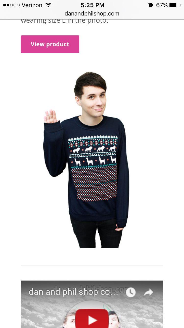 Dan And Phil Christmas Sweater.Dan And Phil Christmas Sweater Clothes Christmas
