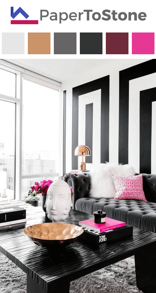 10 Amazing Red Black And White Living Room Decorating Ideas