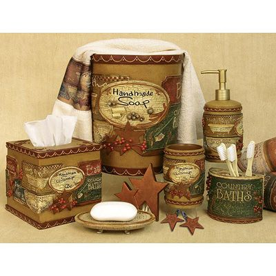 Interior Country Bathroom Accessories country baths bath accessories collection for the collection