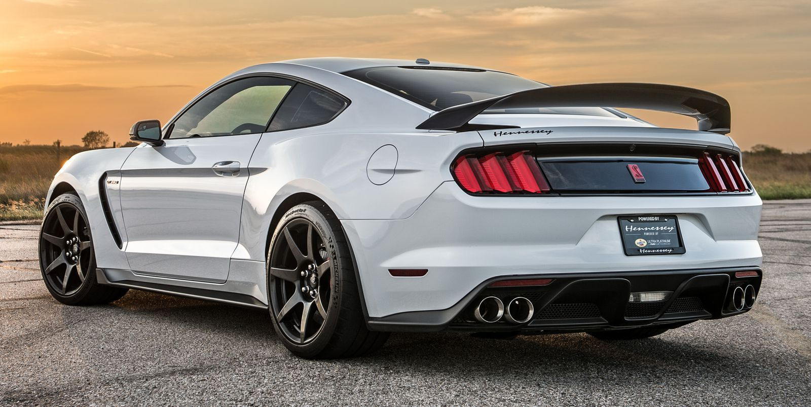 Hennessey S Supercharged Shelby Mustang Gt350 R Sounds Seriously