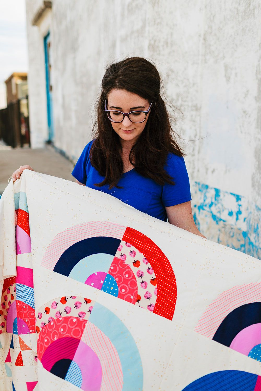 Rainbow Falls Quilt : All of the Details | Wren Collective