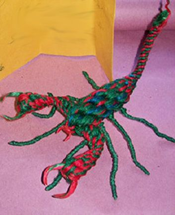becec68531d7 yarn scorpion made by charles manson