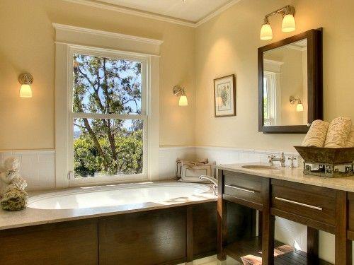 idea for basement bathroom wall color rich cream benjamin moore