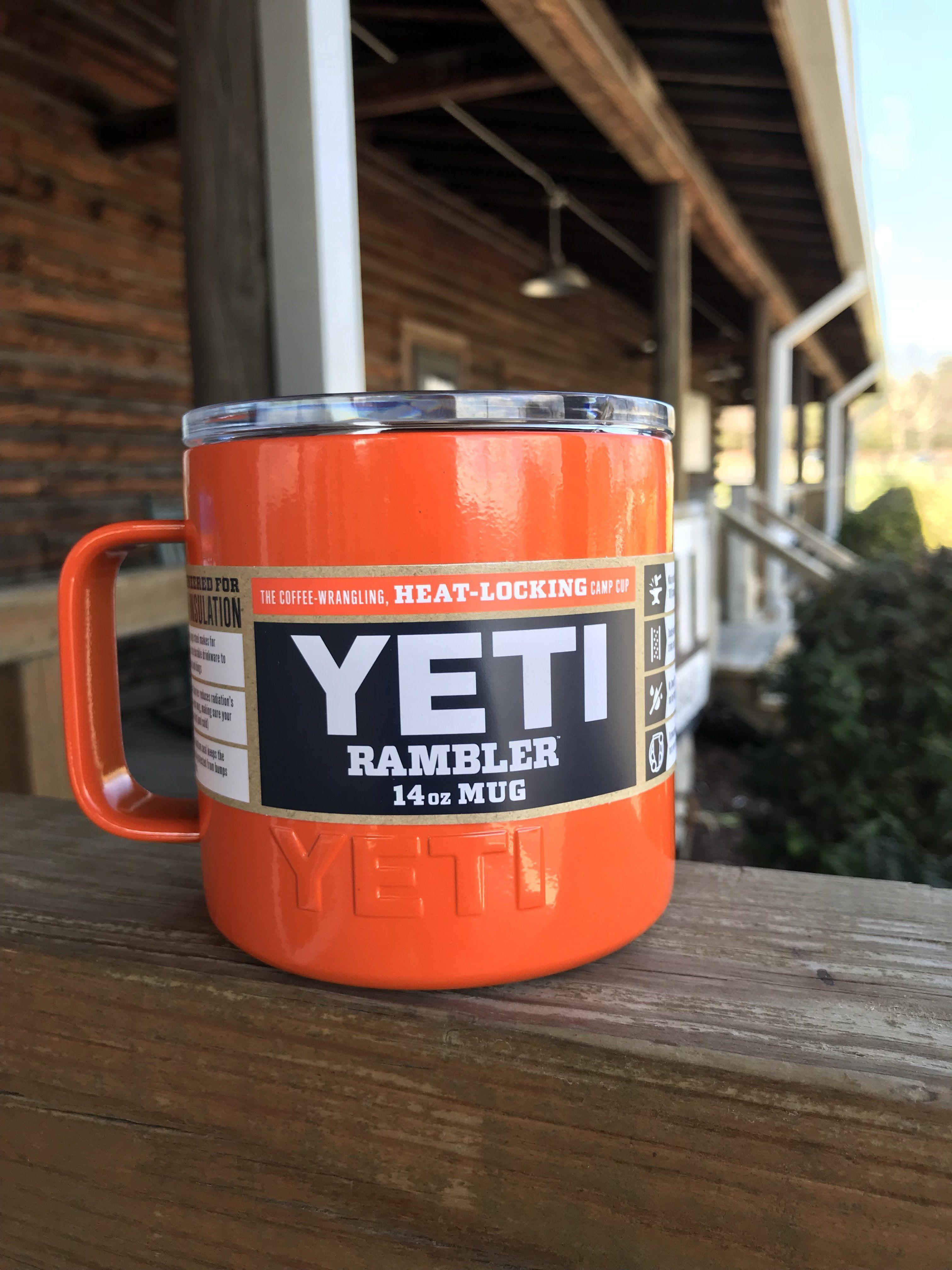YETI Colored 14 Ounce Mug Orange Mugs, Orange, Yeti