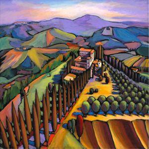 Hills of Tuscany, Daniel Ng