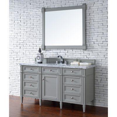 James Martin Brittany 60 in Single Bathroom Vanity - 650-V60S-CWH
