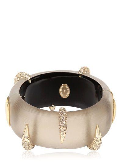 ALEXIS BITTAR Durban gold pavé beak bracelet - 303 €
