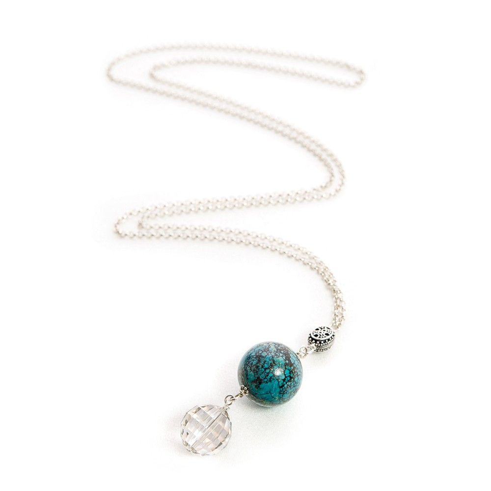 Turquoise pendant necklace i would literally wear this everyday if