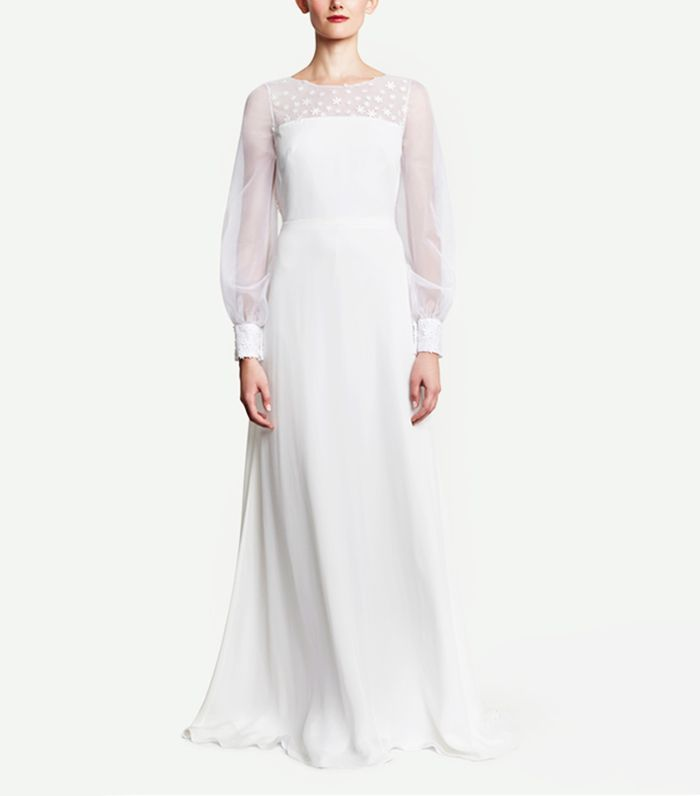 19 Beautiful Wedding Dresses You Can Buy Off The Rack Informal Wedding Dresses Dresses Wedding Dresses