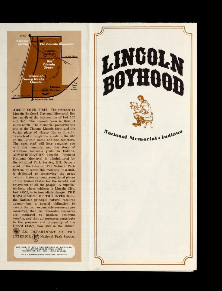 Lincoln Boyhood National Memorial Lincoln Lincoln Financial Abraham Lincoln