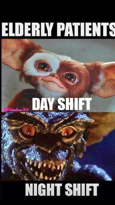 Night shift nurses will understand!