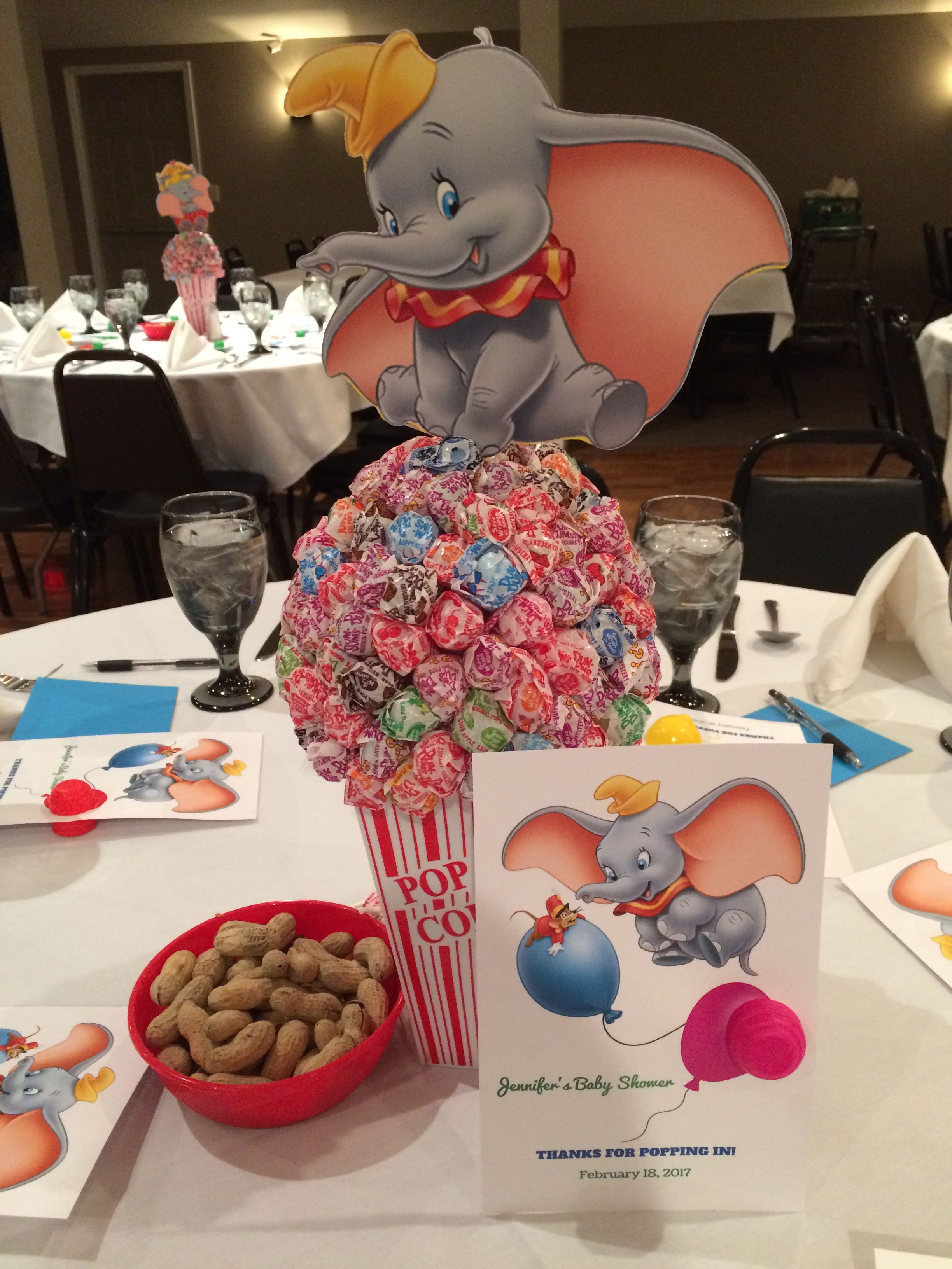 Dumbo Themed Baby Shower Dumbo Baby Shower Circus Baby Shower Disney Baby Shower
