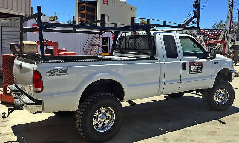 Heavy Duty Forklift Rack On Construction Site Heavy Duty Truck