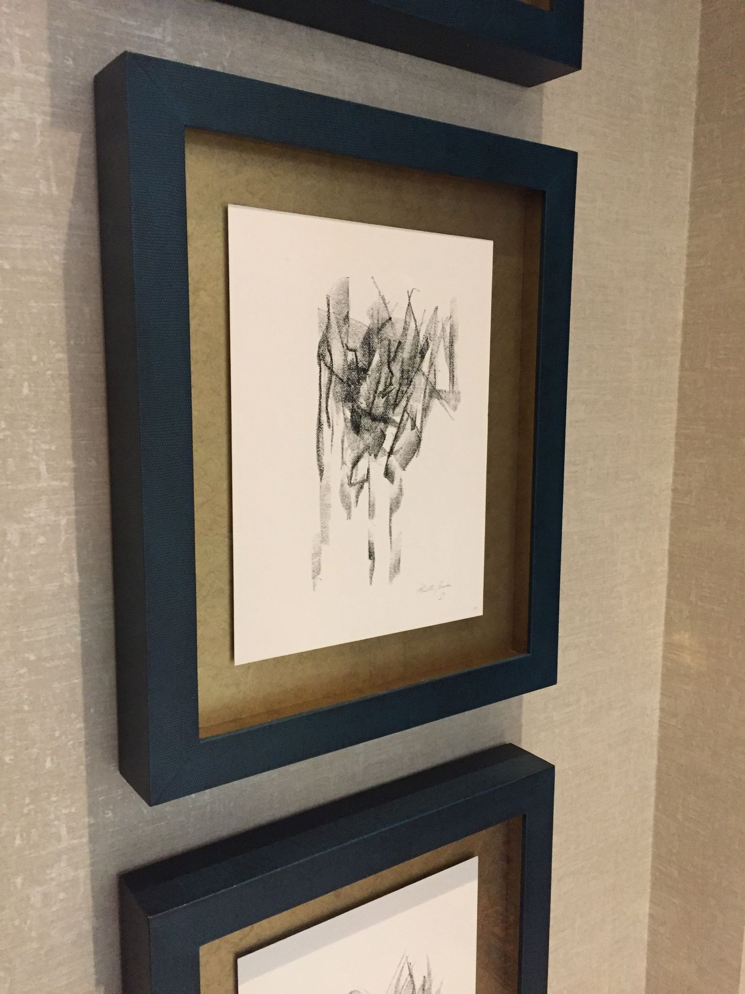 Leather covered window box frame picture frames pinterest leather covered window box frame jeuxipadfo Image collections