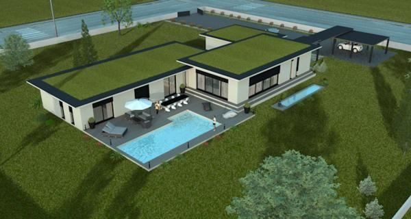 ... Constructeur De Maisons De Luxe (maison Prestige , Maison Performance,  Villa De Luxe )a Albertville En Savoie Et En Région Rhône Alpes De Plein  Pied Ou ...