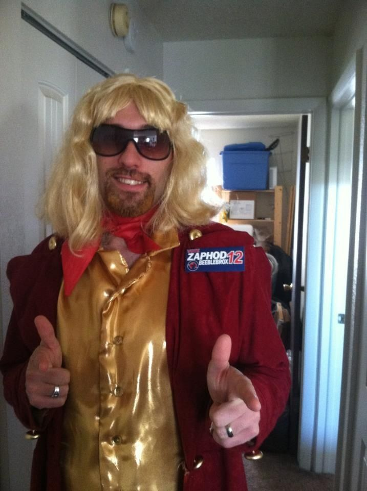 Zaphod beeblebrox - hitchhikers guide to the galaxy - costume