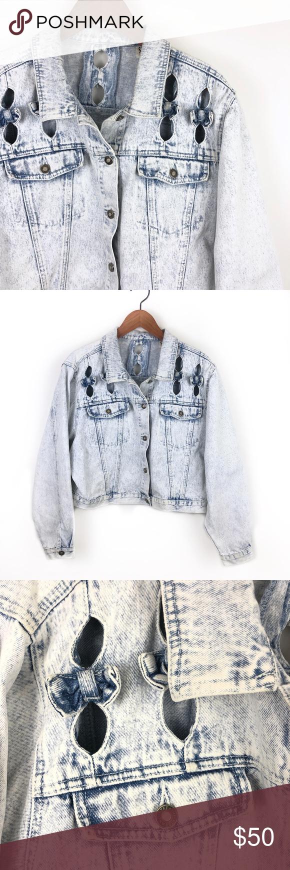Vintage Stefano White Washed Denim Jean Jacket Washed Denim Jeans Denim Wash Denim Jean Jacket [ 1740 x 580 Pixel ]