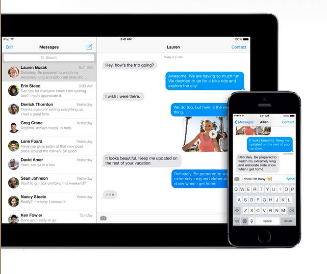 Apple iMessage finally gets online deregister option