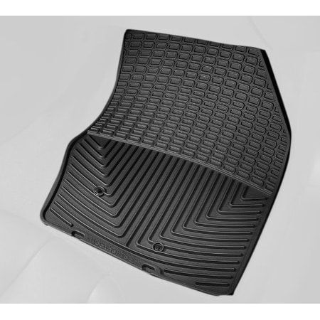 Grey WeatherTech Trim to Fit Front Rubber Mats