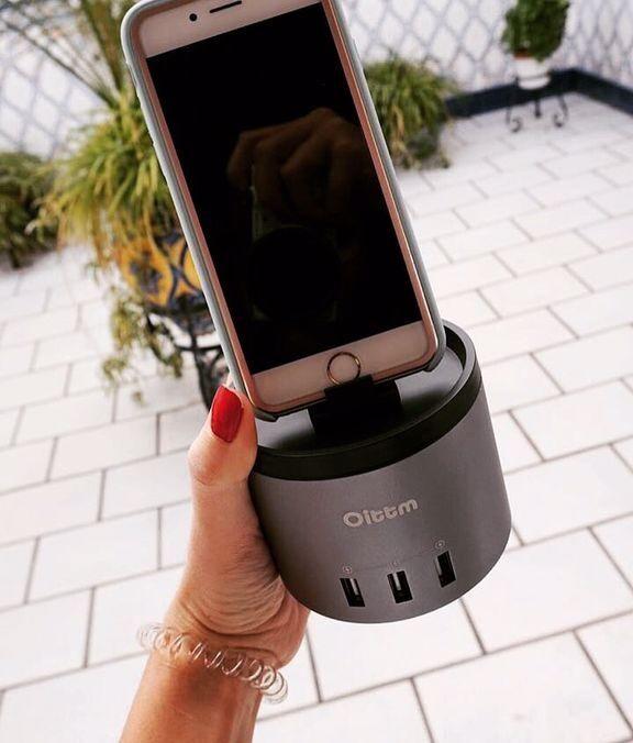 Oittm Charger Stand für Apple Watch 3-Port Ladegerät