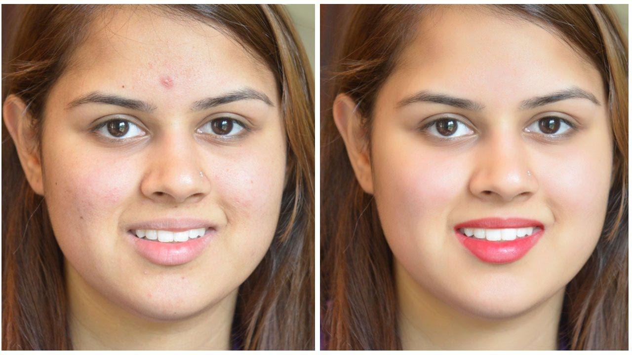 skin tone Photo retouching Smooth skin in
