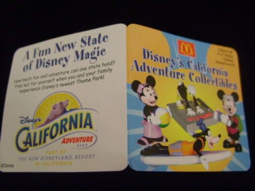 Mc toy Collection California Adventure Minnie Mouse2001