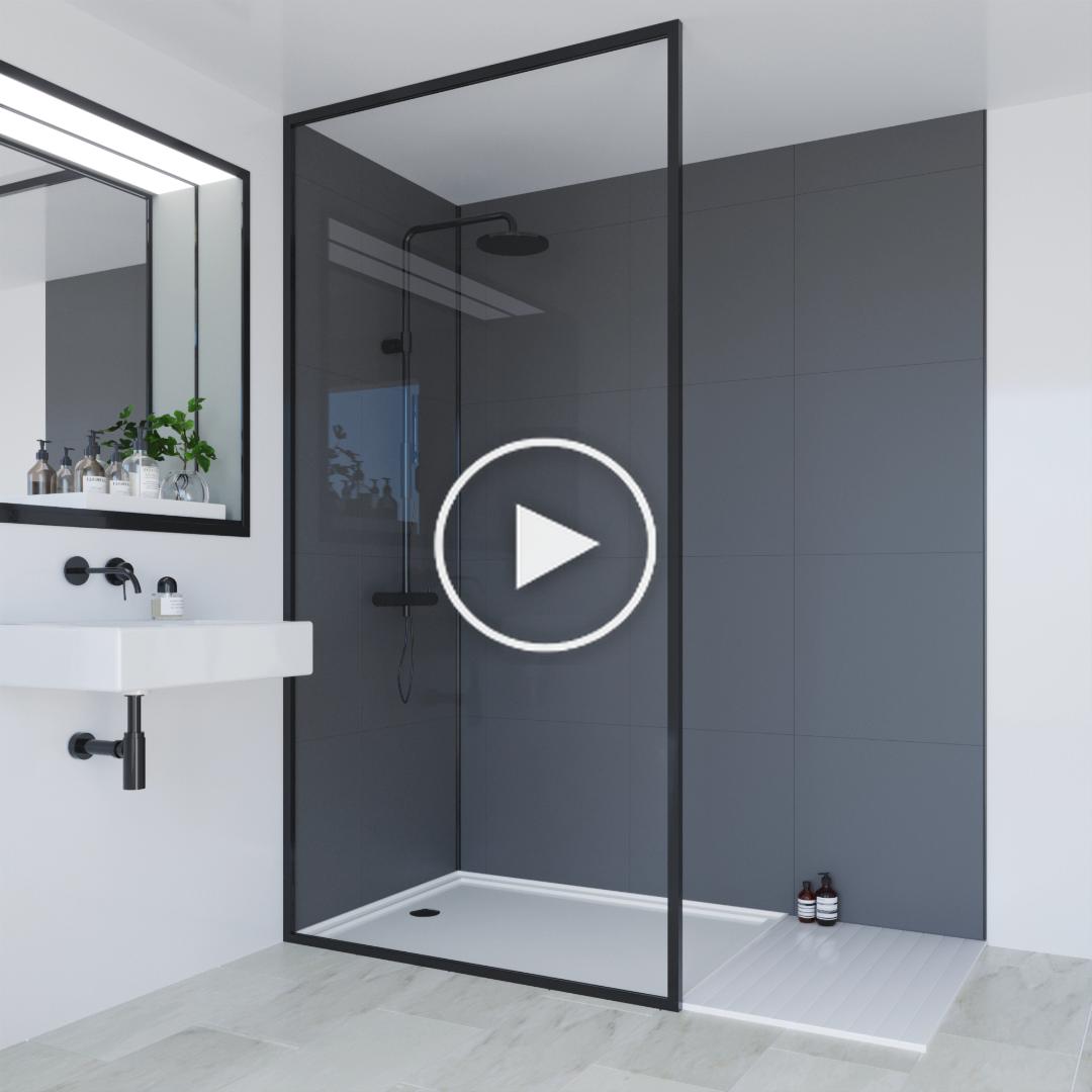 Badezimmer Installateure Wie Konnen Sie Die High End Optik Von Echtem Badezimmerfliesen Modernebadezimmer In 2020 Badkamer Modern Douche Ontwerpen Spiegel Badkamer
