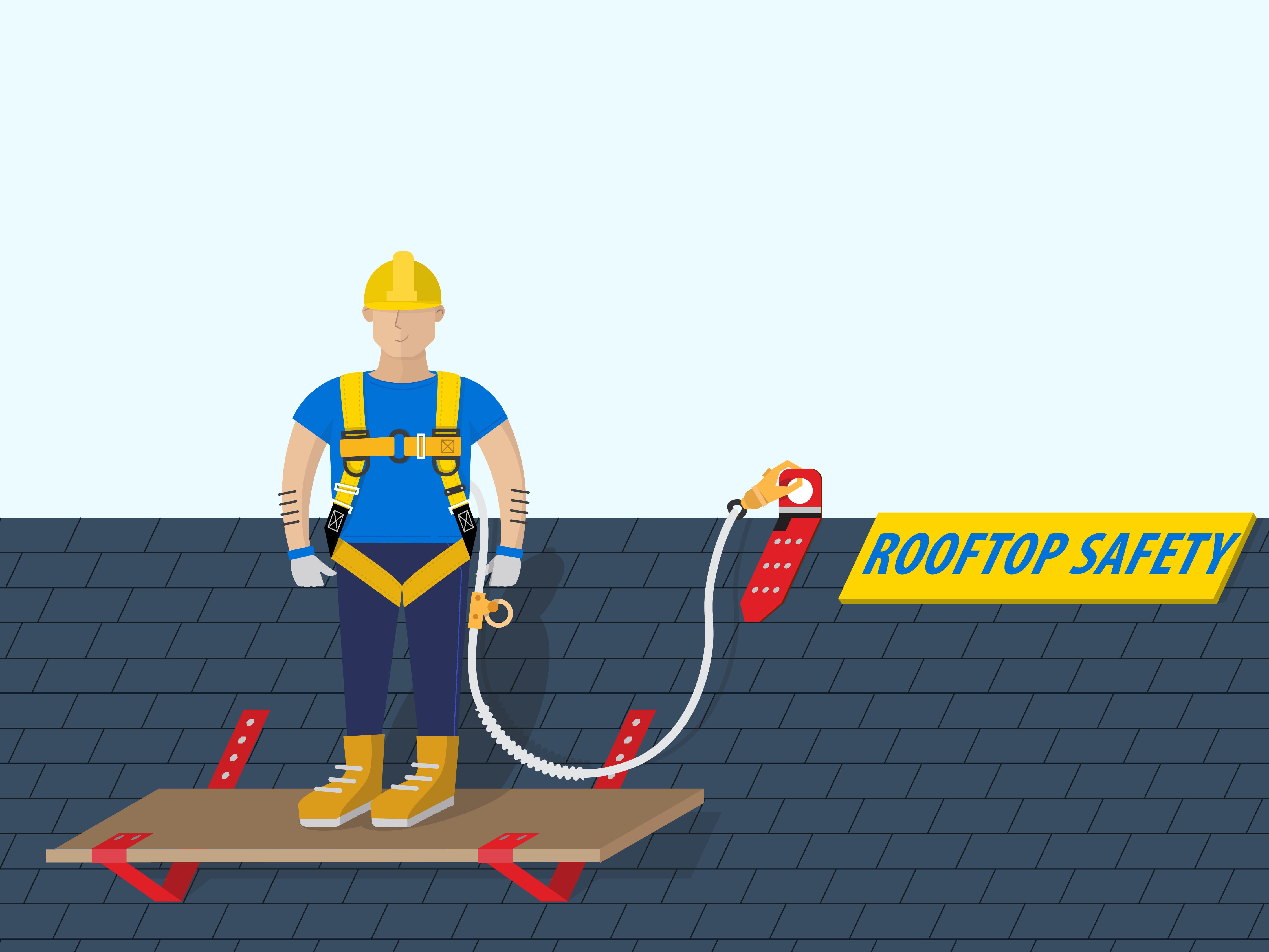 Vector Illustration Roofing Company Website Roofing Roofing Companies Motion Design