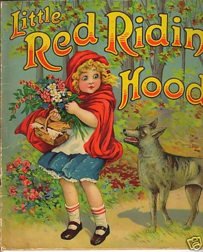 Frances Brundage Little Red Riding Hood Litho Book Cover