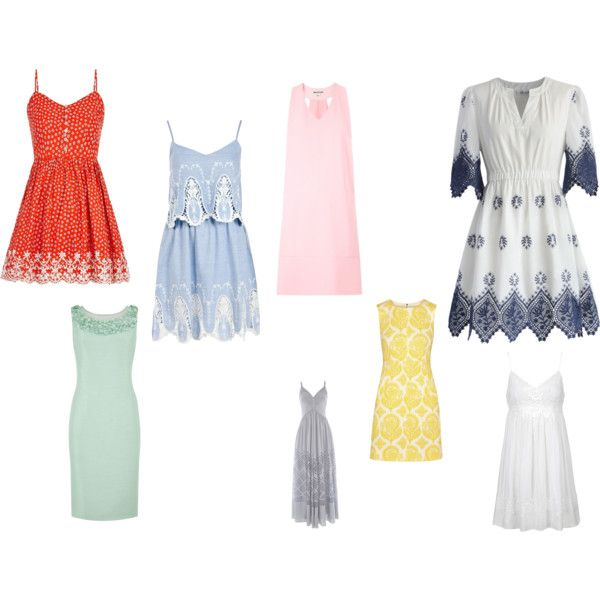 Summer dresses by arianne-mccullough on Polyvore featuring Temperley London, Diane Von Furstenberg, Jacques Vert, Topshop, Chicwish, Boohoo and Louche