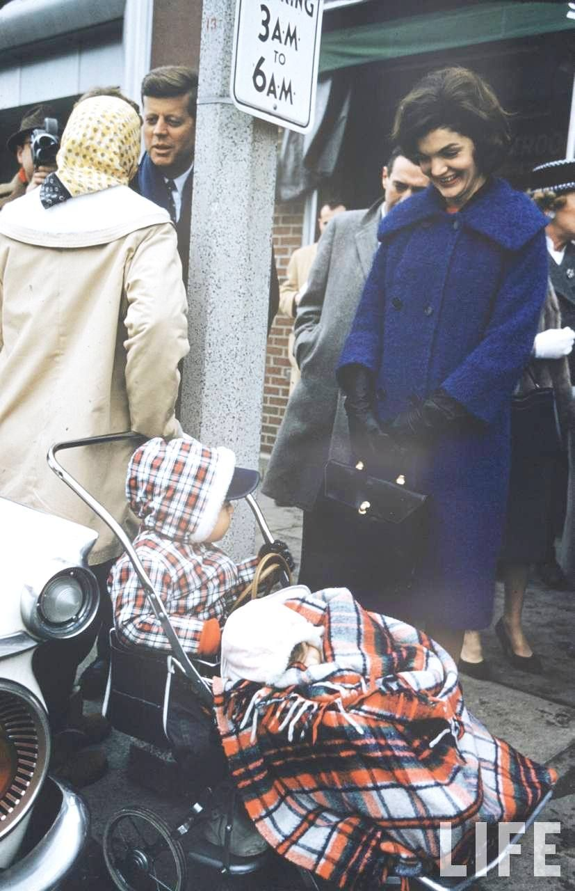 Jackie Kennedy Pregnant: Jack Turns On The Campaign-charm Whilst A Pregnant Jackie