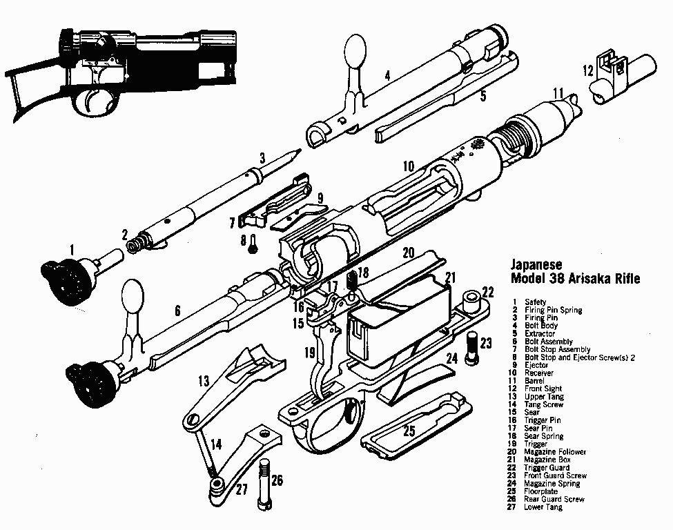K31 Parts Diagram