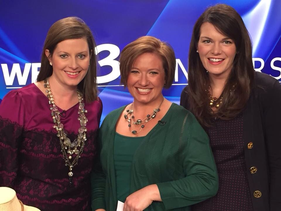 We had such a great time being in WBTV with Kristen Miranda