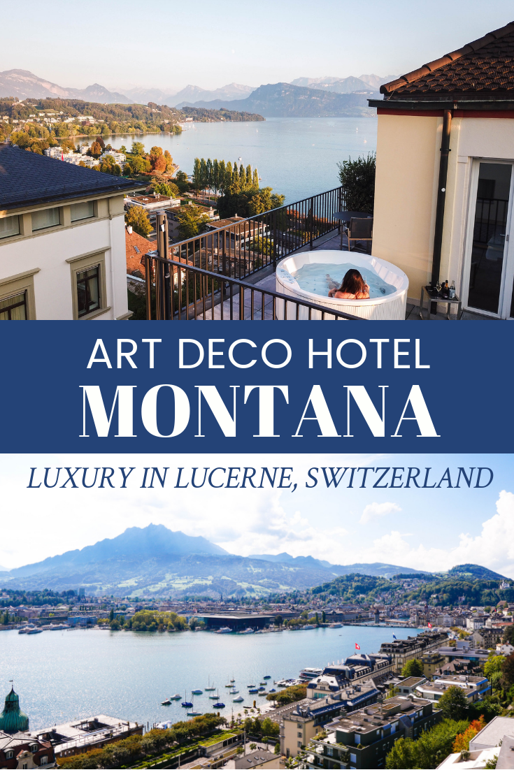 Luxury In Lucerne Switzerland Art Deco Hotel Montana Twf