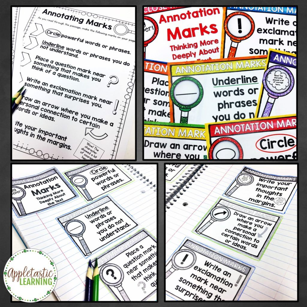 Close Reading Steps For Success