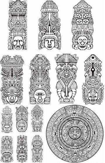 Tatuajes De Simbolos Mayas Y Aztecas Y Su Significado Tatuajes