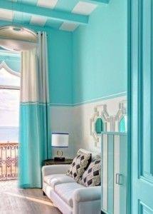 Dekorasi Interior Rumah Minimalis Dengan Warna Biru Rumalis Desain