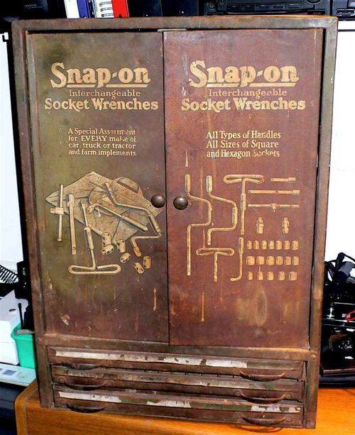 Snap-on retro  Look Large Tin Sign Man-Cave garage shed