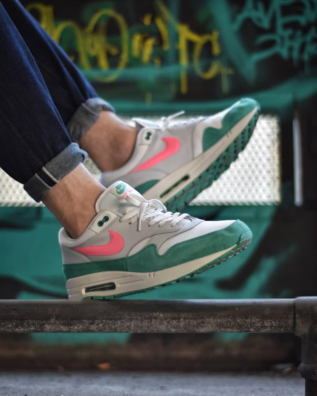 Nike Air Max 1 Watermelon Ah8145 106 South Beach Usd 135 Hkd 1060 New Arrival Order Link Https Www Kickscrew Com Detail 26298 Nike 20air 20max 201 Wat