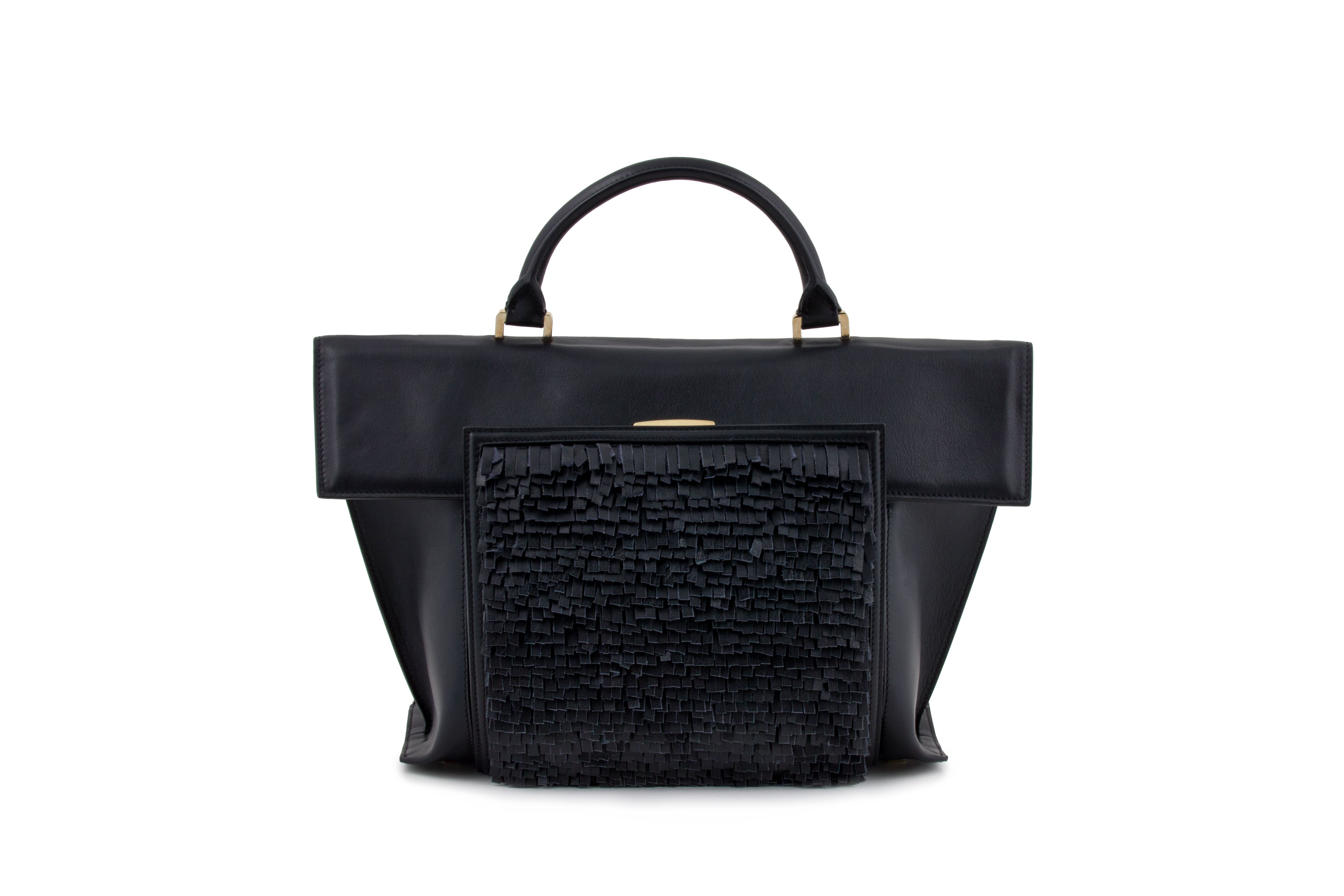 Azzurra Gronchi fall/winter bags collection, black bag